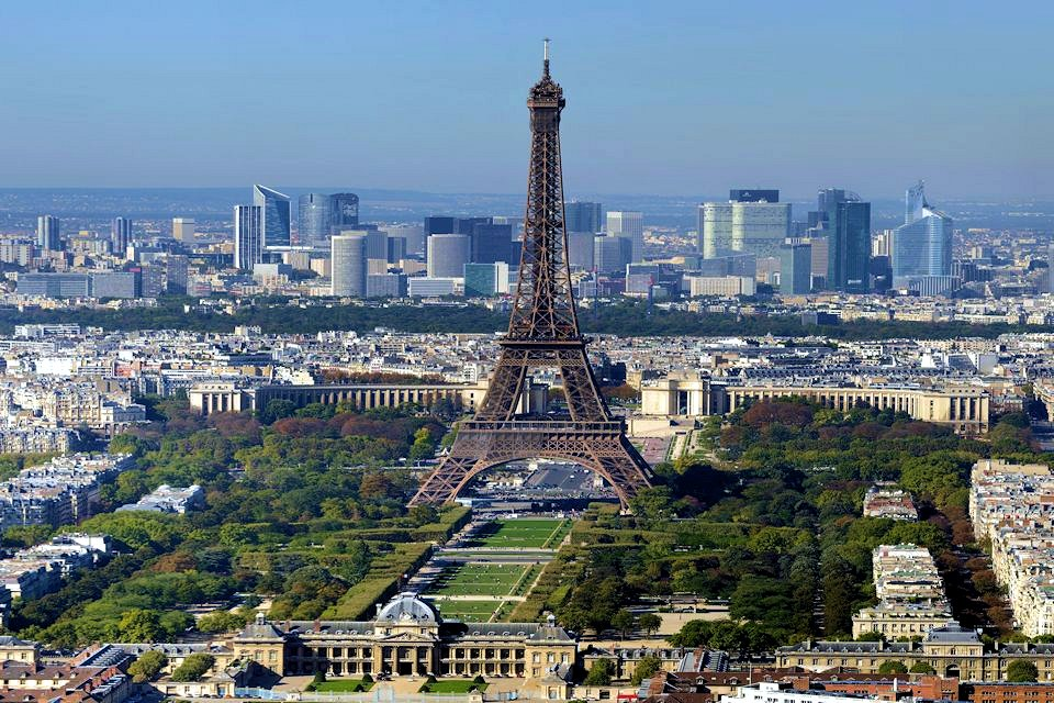 France Paris City View Eiffel Tower Interlude Tours