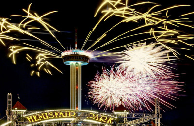 New Year's Celebration Tower of the Americas
